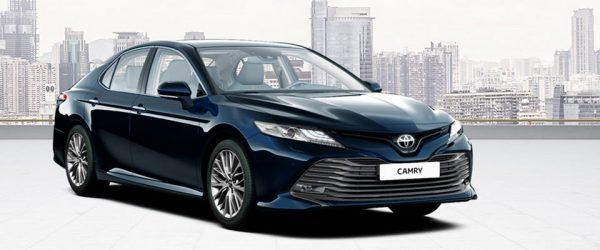 Получите скидку при покупке новой Toyota Camry по акции