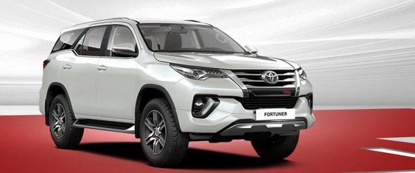 Выгодные условия при покупке внедорожника Toyota Fortuner