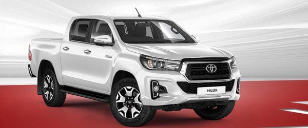 Успейте купить новый Toyota Hilux по акции со скидкой